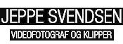 Jeppe Svendsen – Videofotograf og klipper Logo